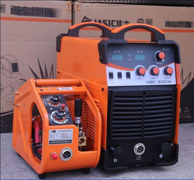 380 V dreiphasige IGBT mig-schweißgerät NBC-500 NBC500 inverter schutzgas schweißer