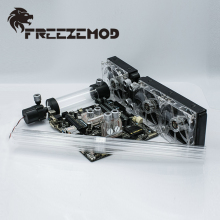 Basic-Set Computer Water-Cooling-System-Set FREEZEMOD-BKH2 for Rigid Tube.