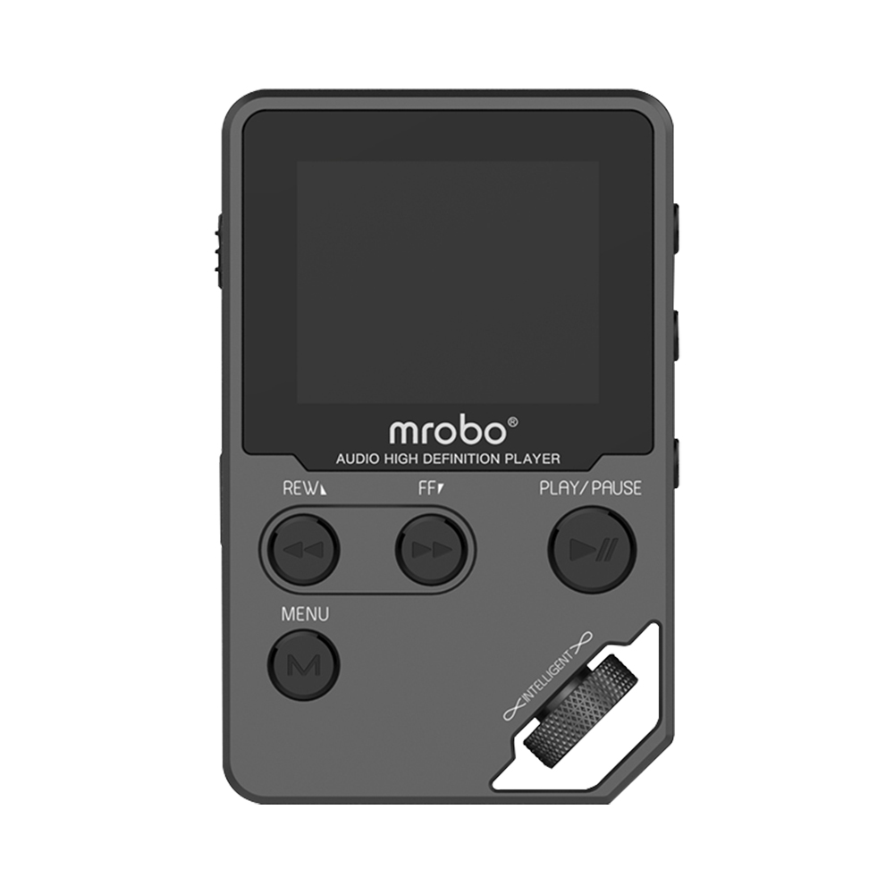 Nouvelle D'origine HiFi MP3 Lecteur Métal APE/FLAC/WAV Haute Qualité Sonore 8 GB Entrée-niveau Sans Perte lecteur de musique avec E-book