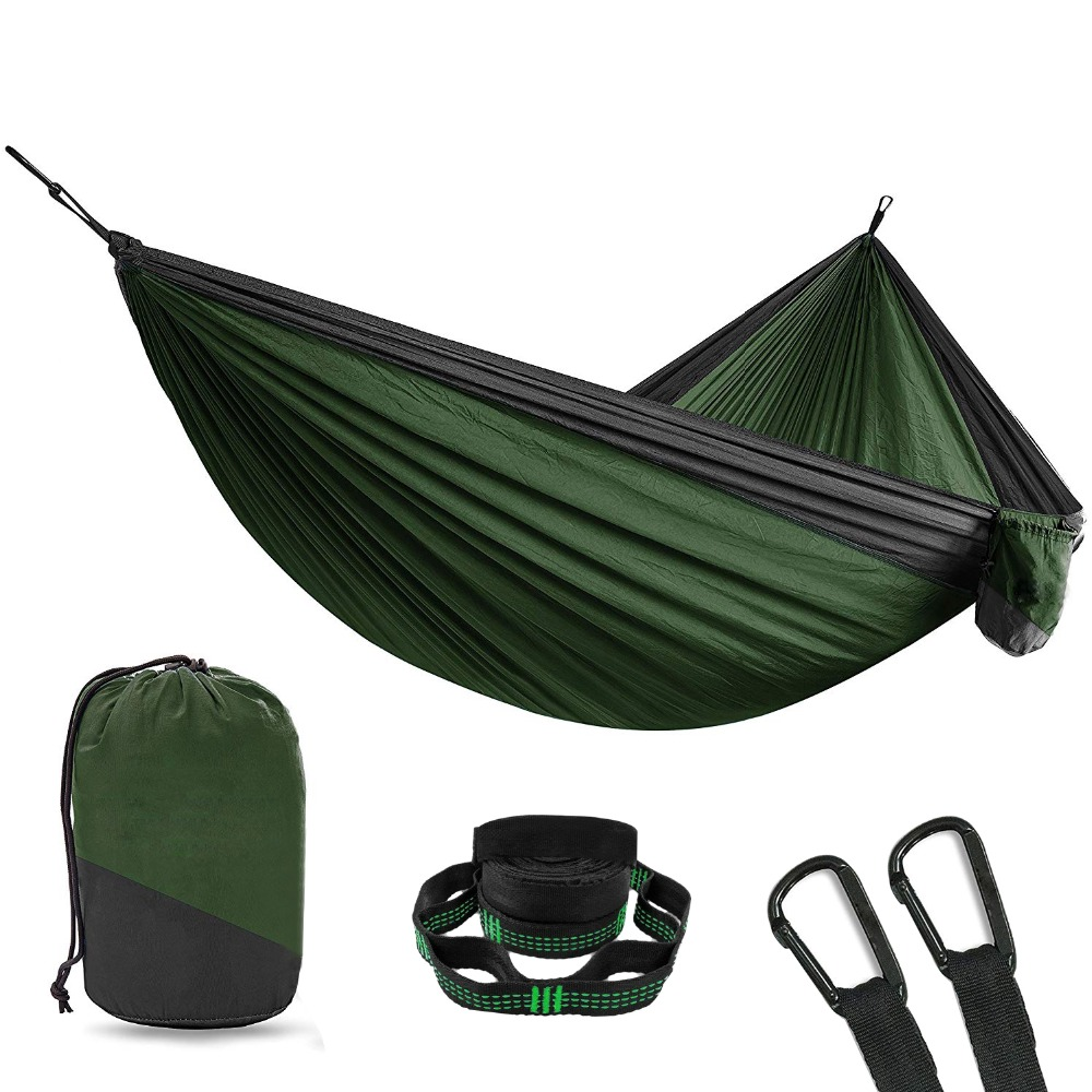 2 Person Double Camping Hammock With Tree Straps 10 Foot Nylon Portable Heavy Duty Holds 700lbs Hanging Sale Ultralight Hamac2 Person Double Camping Hammock With Tree Straps 10 Foot Nylon Portable Heavy Duty Holds 700lbs Hanging Sale Ultralight Hamac