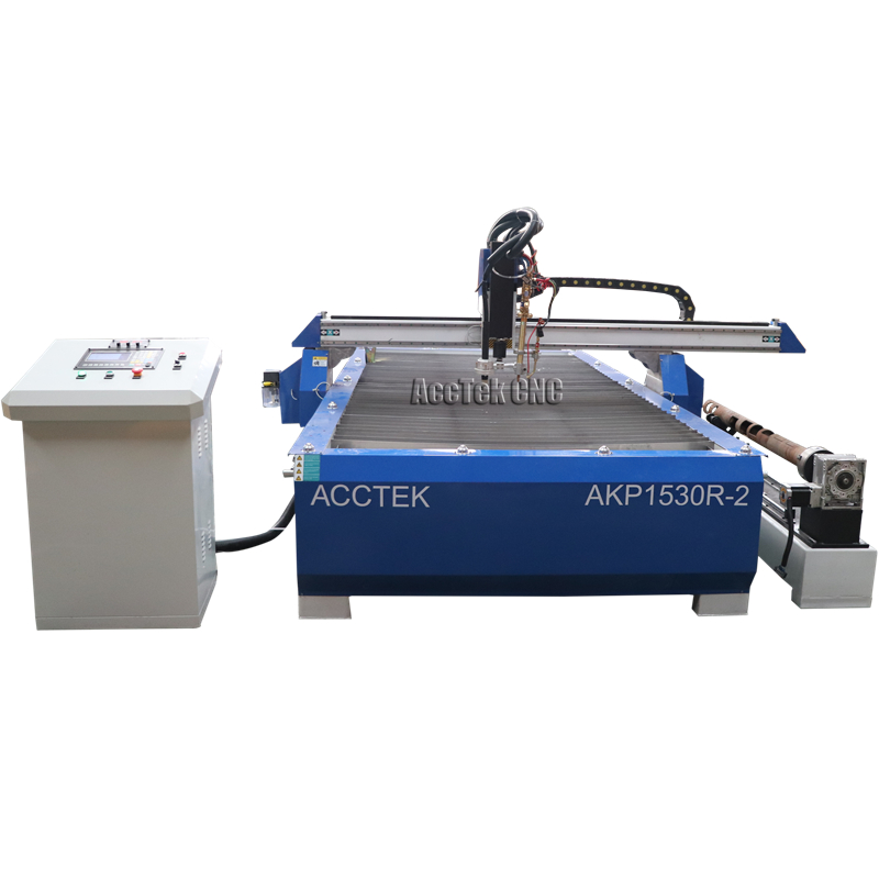 30mm metal steel plate cutter / cnc plasma machine for cutting metal pipe / cnc plasma cutter