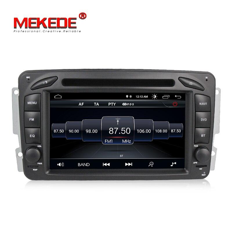 Fit for Mercedes Benz Clk W209 W203 W168 M ML W163 Viano W639 Android 8 1