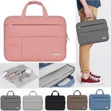 11 11,6 13 13,3 pulgadas portátil bolso hombres portátil caso/caso de manga para Apple Mac Macbook Air Pro Notebook bolsa de 14 15,6 pulgadas