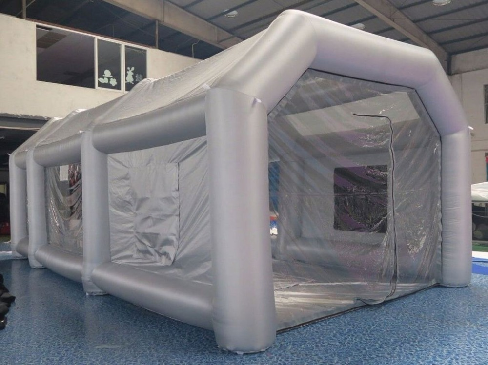 7m*4m*2.5m Outdoor Inflatable Spray Booth,Car Spray Paint