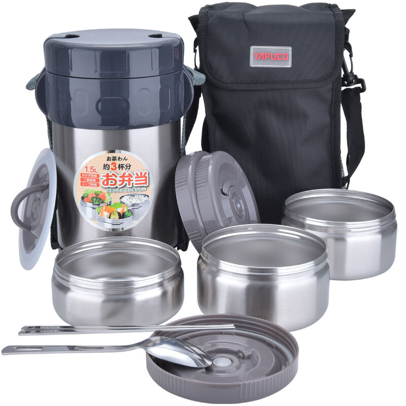 Japan Tafuco 1500ml Stainless Steel Container For Soup