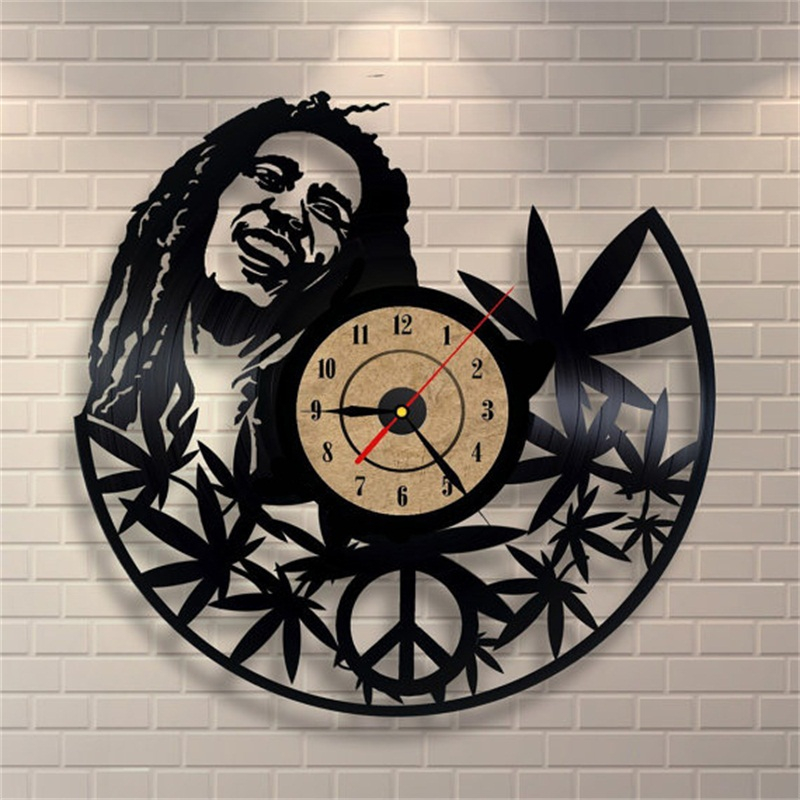 buy 12inch quartz wall clock antique style large decorative wall clocks vinyl. Black Bedroom Furniture Sets. Home Design Ideas