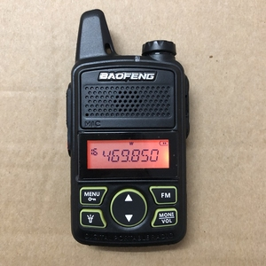 Image 2 - 3pcs Baofeng BF T1 mini walkie talkie transceiver UHF 400 470mhz 20CH Portable Ham FM CB Radio Handheld Transceiver T1