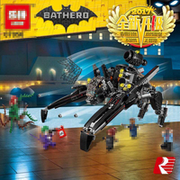 2017 New 07056 Batman Ride The Scuttler With Batman Man Bat Building Block Toys Compatible Batman
