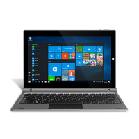 YUNTAB 11.6inch GA116C 2 In 1 Windows10 Tablet PC Quad Core 2GB+32GB Dual Camera Notebook Computer With Keyboard(Silver grey)