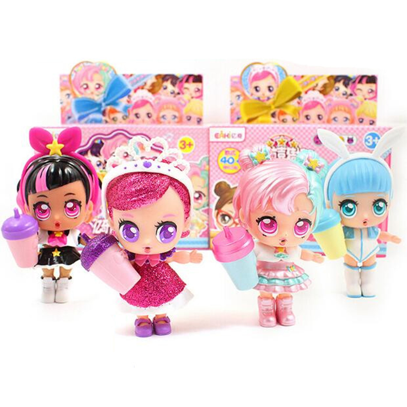Anime figure lol Genuine DIY Kids Surprises Toy lol Dolls with Original Box Puzzle toy Toys for Children birthday Christmas gift Car phone