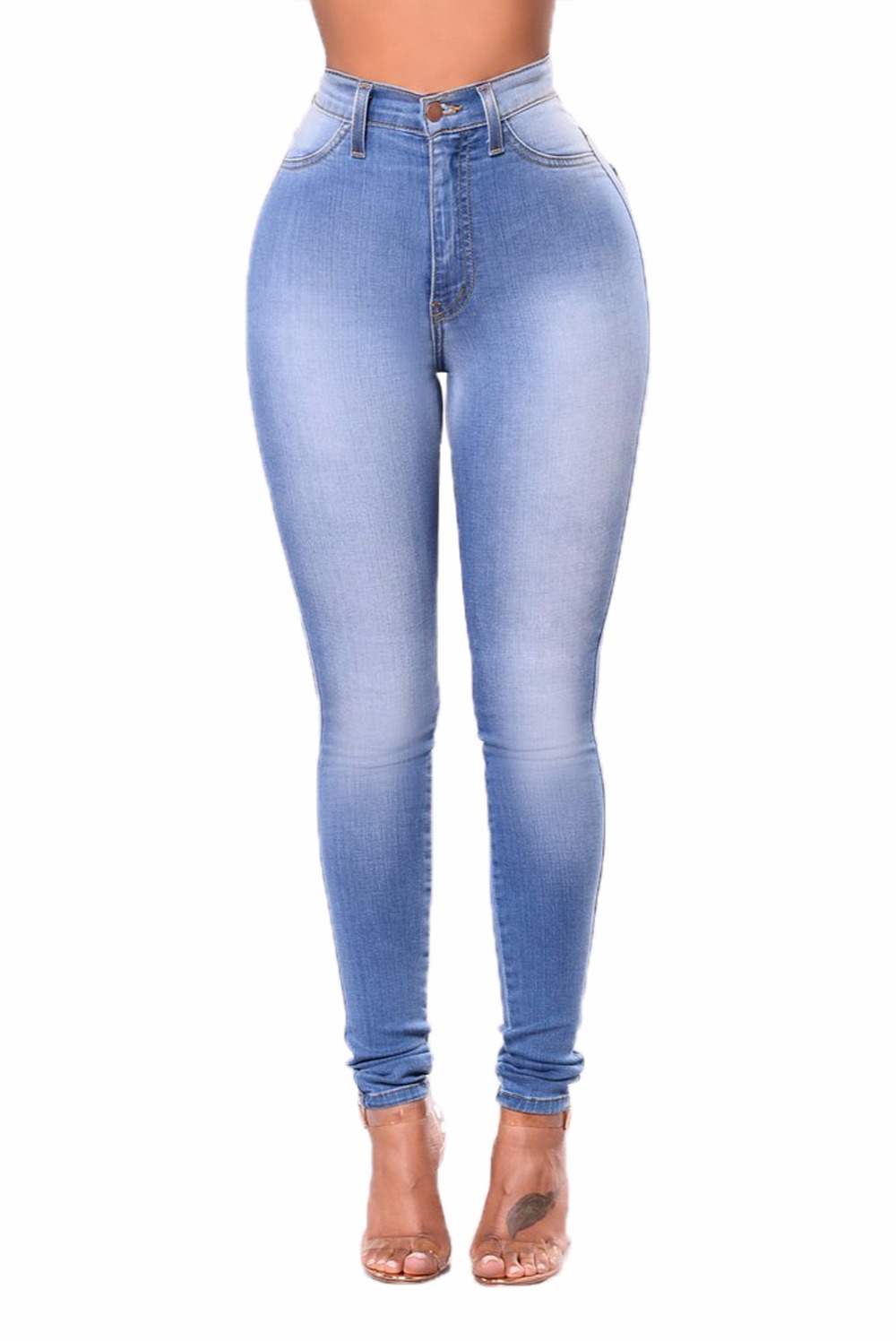Wholesale S-3XL Fashion Stretch Jeans Skinny Pencil Leggings Jeans Xxx Usa Sexy Ladies Leggings Sex Photo Women Jeans