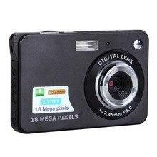 """จัดส่งฟรีที่มีคุณภาพสูง18MP 2.7 """"TFT LCD DV 8XซูมดิจิตอลHD 1280×720กล้องกล้องดิจิตอล"""