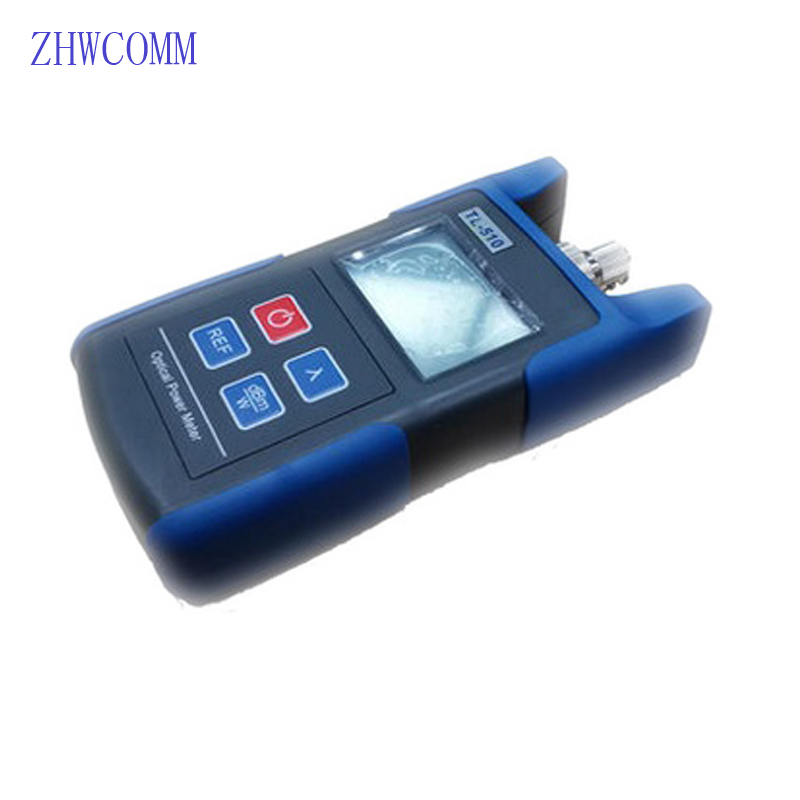 ZHWCOMM FC SC Interface Optical Power Meter TL510 ,Mini Fiber Optical Power Meter With 1310/1490/1550/1625 nm