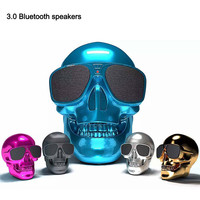 New Mini Speaker Skull Shape Speakers Bluetooth Portable Stereo Subwoofer Speaker NFC Bluetooth Audio Wireless Bluetooth