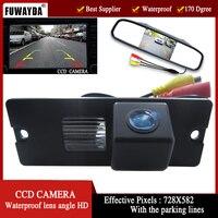 Color CCD Car Rear View Camera For Mitsubishi Pajero V3 V6 V8 Zinger With 4 3