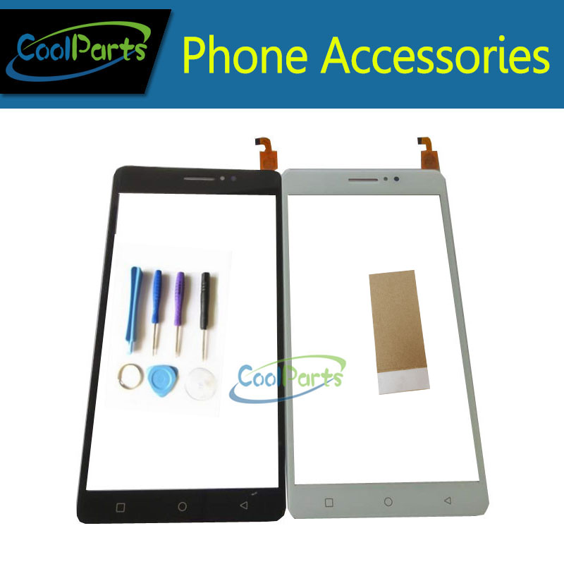 1PC/Lot High Quality For X-BO X BO XBO O1 01 Touch Screen Digitizer Touch Panel Glass With Tool&Tape Black White Gold Color