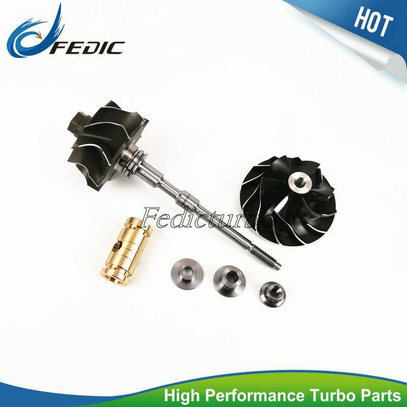 Turbocharger shaft and wheel GT1749V 708639 Turbo rotor for Renault Espace III IV Laguna II Megane