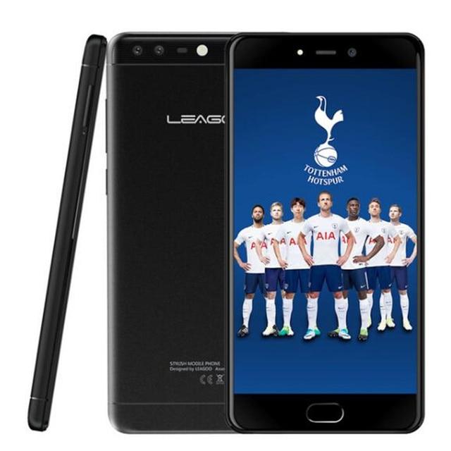 "LEAGOO T5c 4G LTE Smartphone Android 7.0 SC9853 Octa Core 5.5""FHD 3GB RAM 32GB ROM 13MP Dual Back Cams Fingerprint Mobile Phone"