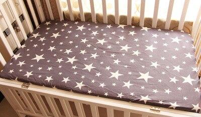 Hoeslaken Zwart Wit.Zwart Wit Wolken Regendruppels Matras Cover Roze Kleur Katoenen Baby