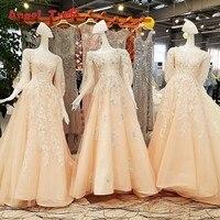 Luxury Ever Pretty Evening Dresses Lace Flowers Vestidos De Fiesta Abiti Da Cerimonia Da Sera Vestidos