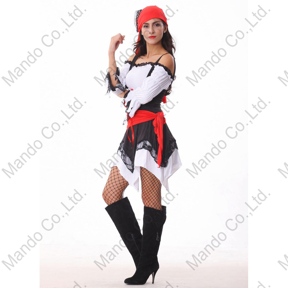Online Buy Wholesale pirate outfit adult from China pirate outfit ...