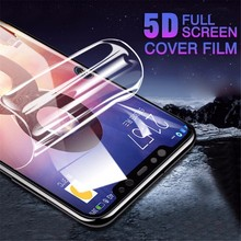 5D Curved Soft Full Cover Hydrogel Screen Protector For Xiaomi Redmi 4X S2 5A 7 6 NOTE 5 Pro Film Poco F1