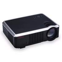 Poner Saund 3302 LED HD Projector Android WiFi Bluetooth 3500 Lumens 3D Home Theater Support Full HD 1080P HDMI /VGA/ AV Beamer