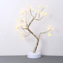 Сенсорный выключатель ночного дерева с подсветкой Светодиодный настольный светильник с подсветкой