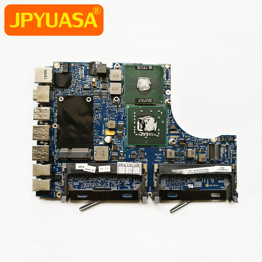 Laptop Motherboard For Macbook 13 A1181 Logic Board CPU 2.4GHz T8300 820-2279-A 661-4710 Early 2008 rsag 7 820 5277 main logic board for printer5 led55k20jd led58k280j t con connect board