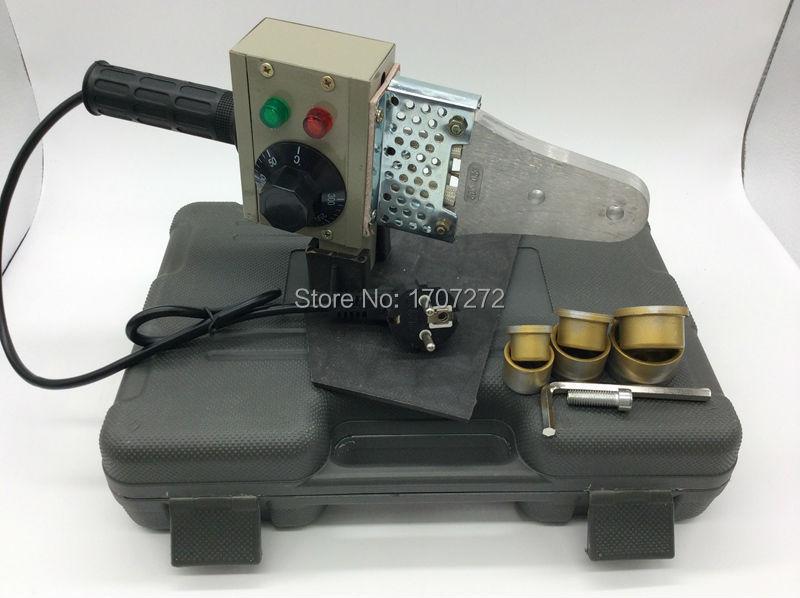 Forró eladás Hőmérsékletű PPR hegesztőgép, pvc hegesztőgép AC 220V 600W 20-32mm műanyag csövekhez