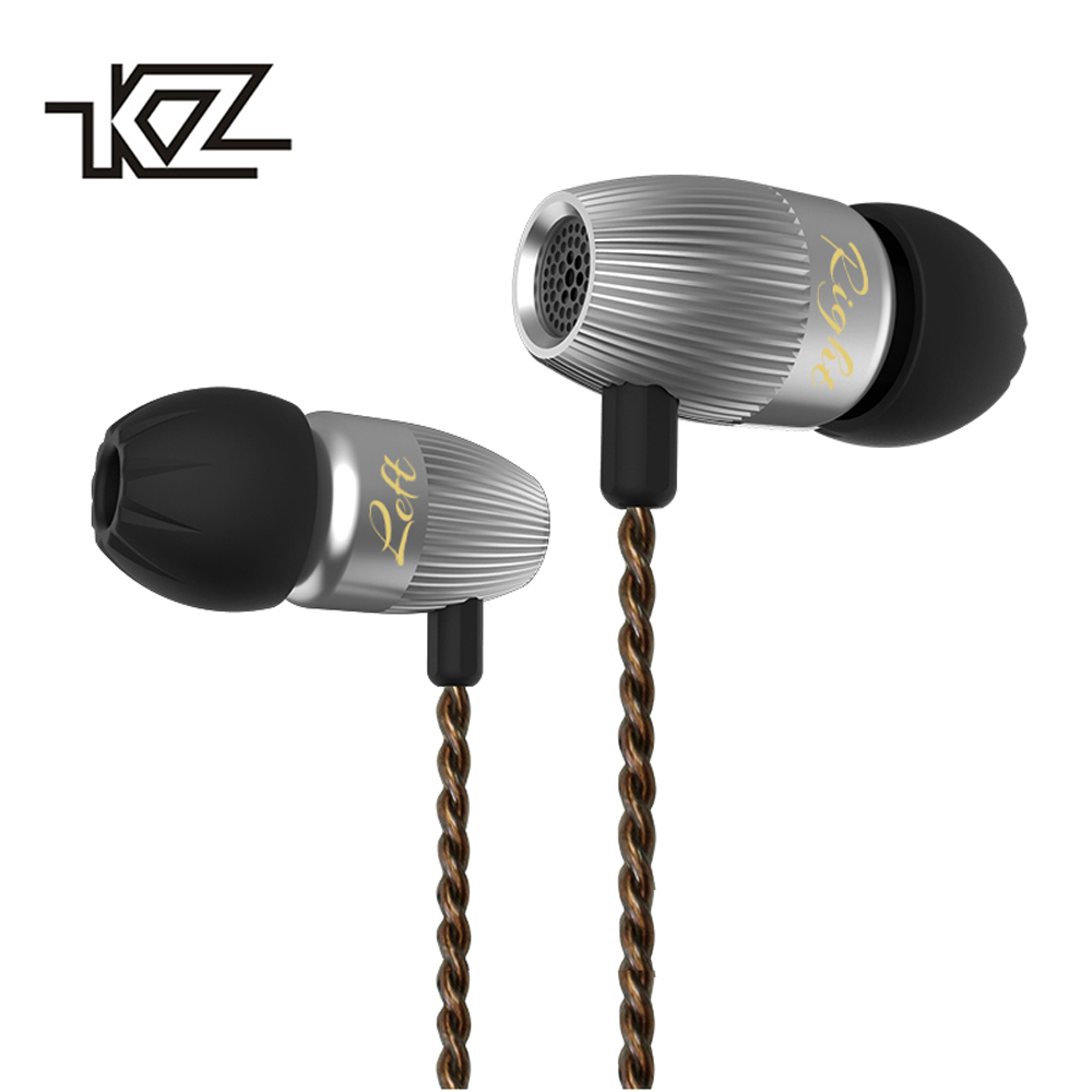 KZ ED15 In Ear Earphone 1DD+1BA Dual Driver Bass Stereo Earbuds Dynamic And Armature Earphone with Mic HiFi In Ear Monitor kz ed2 special edition gold plated housing earphone with microphone 3 5mm hd hifi in ear monitor bass stereo earbuds for phone