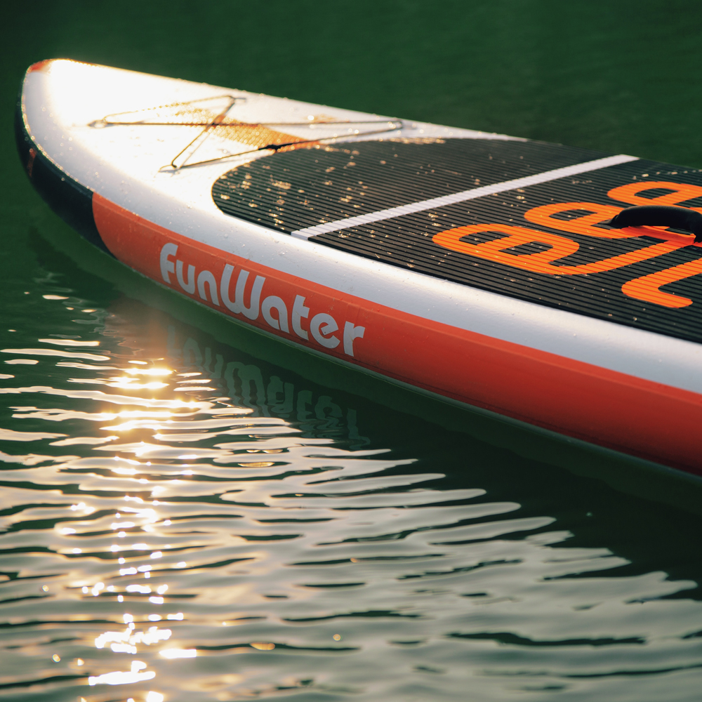 FunWater 335*84*15 cm Gonflable stand up paddle Planche de surf paddle baord sup paddle