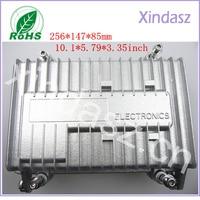 256*147*85mm 10.1*5.79*3.35inch Waterproof die cast aluminum enclosure electrical metal equipment box