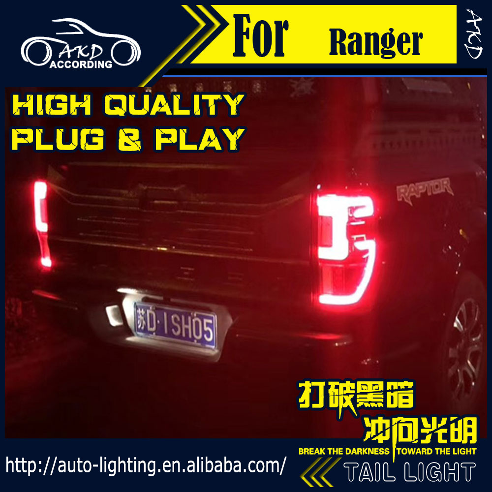 Tail-Lamp Raptor Ranger Led Led-Brake-Reverse Turn-Signal Ford New Car Styli