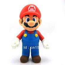 High Quality POP Game Super Mario Bros Action Figure PVC Mario 23CM 9″ Chritmas Gifts Free Shipping