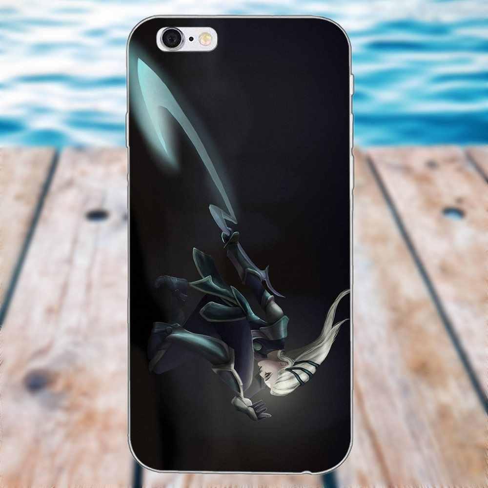 MicroData TPU мобильный для Apple iPhone 4 4s 5 5C SE 6 6 S 7 8 Plus X Galaxy большое ядро II Prime Alpha League Of Legends Diana