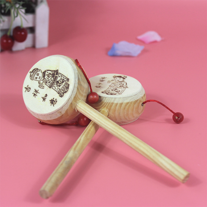 Wooden Rattle Toys Baby Wrist Rattle Baby Crib Toy 0 12 Month Baby Newborn Toys Rattle Infant Toys Educational Developmental