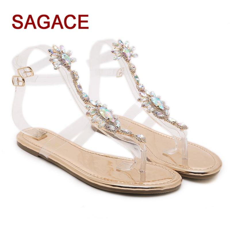 4a41d42fcd40b5 HB Women Flip Flops Beach Sandals Fashion Bling Slippers Summer Women Flat  Sandalia Feminina Buty