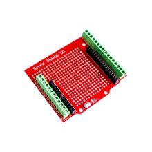 Прототип винтовой щит, Расширительная плата, собранный клеммный щит Proto, двухсторонний припой PCB IO для Arduino UNO Mega2560 One