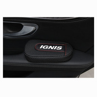 Soft Leather Leg Cushion Knee Pad Armrest pad Interior Car Accessories For Suzuki Ignis