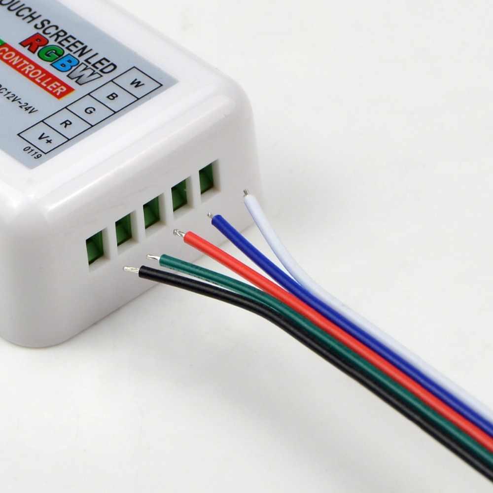 5 sztuk RGBWW RGBW LED złącze paska drutu 5 Pin złącza kabla darmo spawania dla 5050 LED pasek światła taśma wstążka lampa
