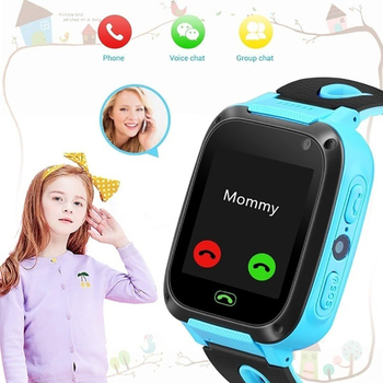 LBS Anti-Lost Positioning Kids Smart Watch Child Illumination Alarm Clock Waterproof Take Picture Children Make Call