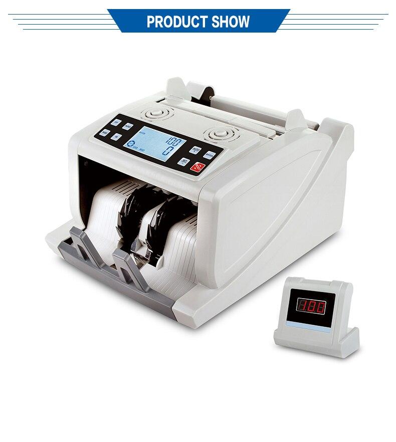 de Dinheiro De Detecção UV + MG + IR + TAMANHO DMS-MA780T