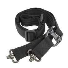 цена на Tactical Hunting Gun Sling Adjustable  Single Point Bungee Rifle Sling Strap System Two-point gun strap