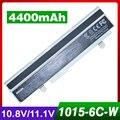 4400mAh laptop white battery for ASUS Lamborghini Eee PC VX65 VX6S VX6 EPC 1011PX-HW 1011 1015 1016 1215 R011 R051