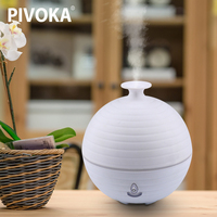 USB Charging Aroma Essential Oil Diffuser Ultrasonic Air Humidifier With ABS PP 5 Color Changing LED