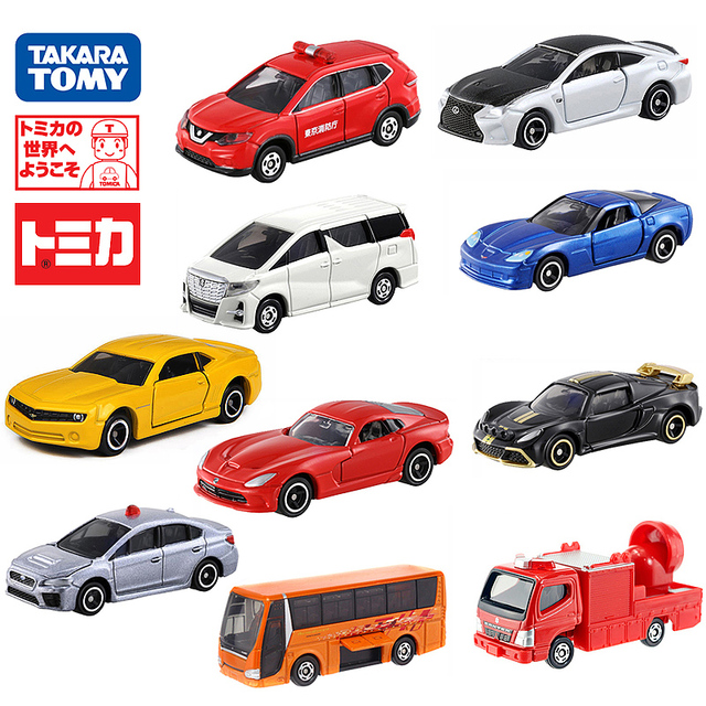 Takara Tomy Tomica Mini Metal Cast Vehicles Model Toy Cars Gifts Various Types New In Box