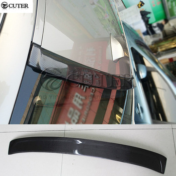 F10 5 series Carbon fiber Car Rear Spoiler Roof Wings top wings For BMW F10 520i 525i 530i 535i car styling AC style 10-17