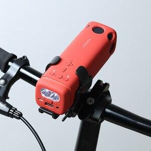 Image 3 - חדש חיצוני רמקול רכיבה על אופניים נייד אלחוטי Bluetooth רמקול עם חירום כוח טעינה חזק אור פנס רמקולים