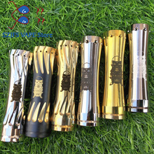 AV Kane MOD 18650 20700 Mechanical Electronic Cigarette VAPE Gold Color Exquisite Pattern Ecig Fit 510 Atomizers 2019 NEWNEST